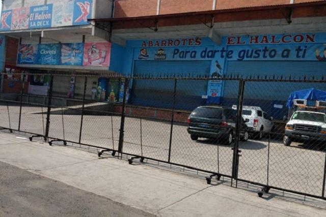 Asegura la FGR tiendas El Halcón en Texmelucan