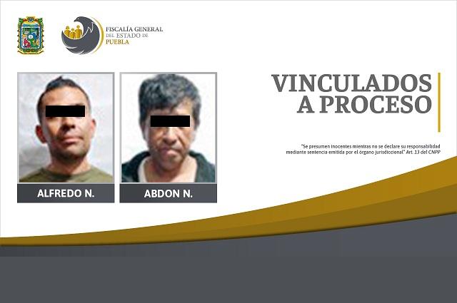 Los vinculan a proceso por extorsionar a ciudadano de Tetela de Ocampo