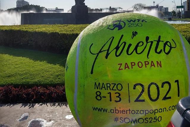 Abierto de Zapopan irá con público; reciben autorización para un 30%