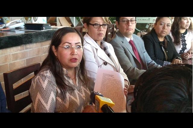 Abogados de Tehuacán se pronuncian ante la inseguridad