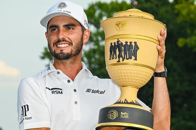 Después de Tokio, Abraham Ancer se corona en el PGA Tour
