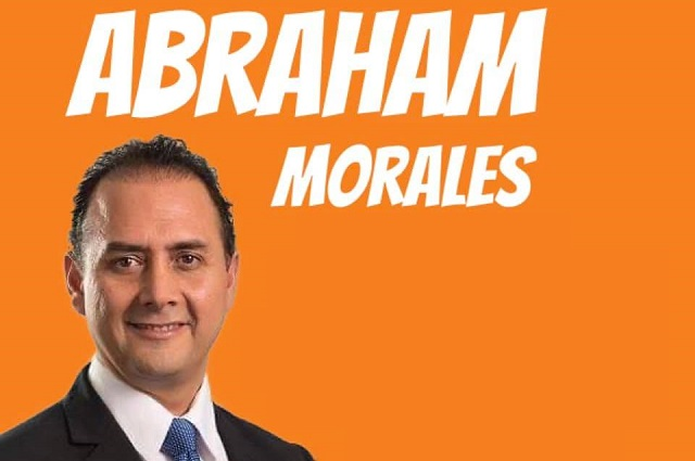 Abraham Morales busca candidatura de Movimiento Ciudadano