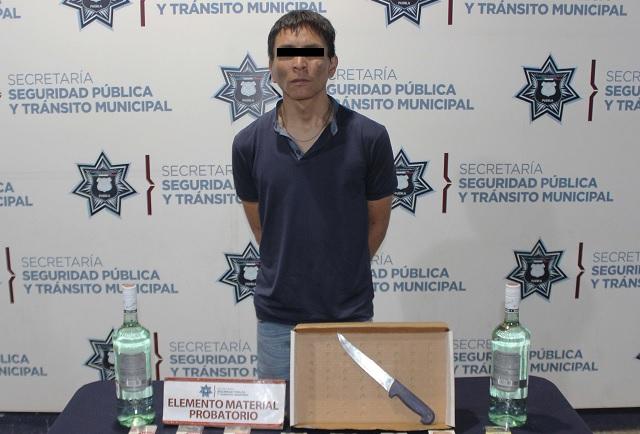 """Detienen a """"El Abuelo"""" asaltante de tiendas Oxxo en Puebla"""