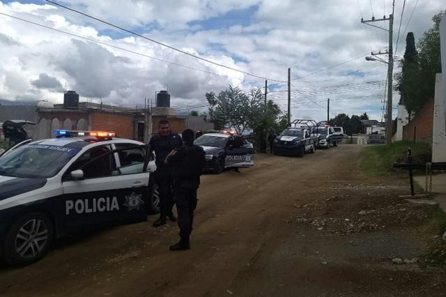 Abuelo asesina a novio de su nieta en Santa Clara Ocoyucan