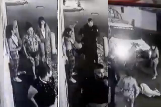 Exhiben abuso de policías a jovencitas en Estado de México