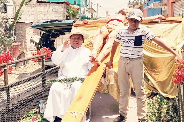 Párroco de Acatlán pide a la población no perder la fe frente al Covid-19