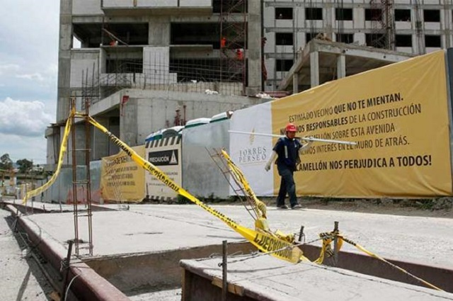 Multa de 1 mdp a constructoras por no asegurar a trabajadores
