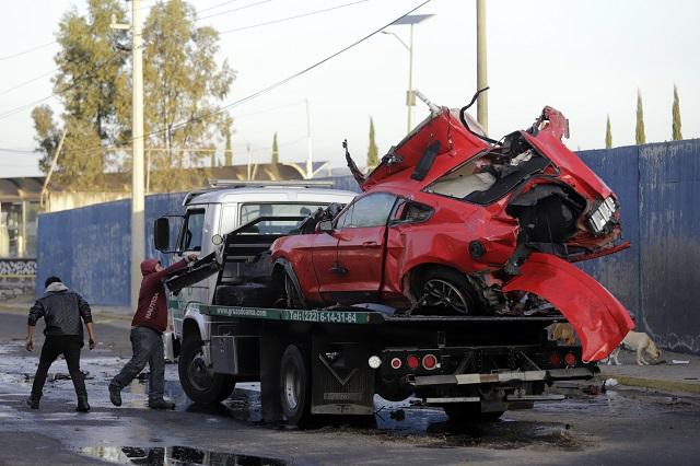 Chofer de Mustang llega a San Miguel por choque en Villa Verde