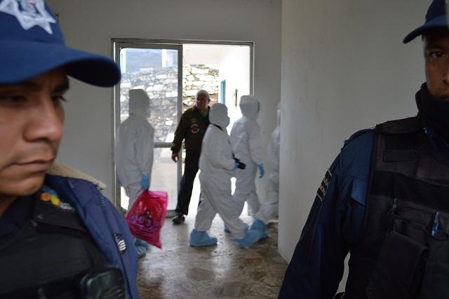 Trasladan a Puebla 28 cuerpos calcinados en accidente de Jalpan