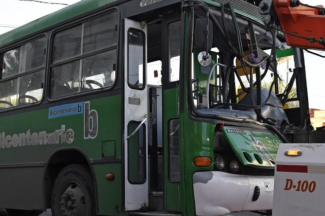 Rebasa transporte público los 20 accidentes desde alza en Puebla