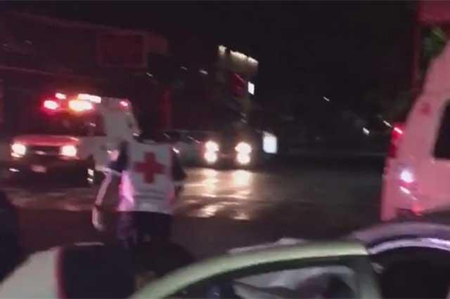En estado de ebriedad, conductor ocasiona choque y deja 2 lesionados