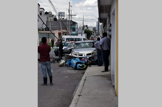 Registran tres accidentes viales en distintos puntos de Atlixco