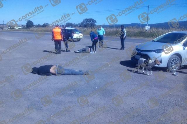 Accidente en Ahuazotepec deja un muerto y un herido
