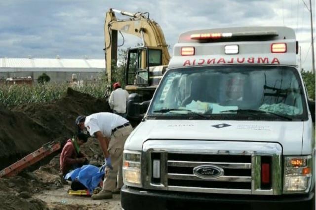 En Coronango lamentan accidente donde perdió la vida un constructor
