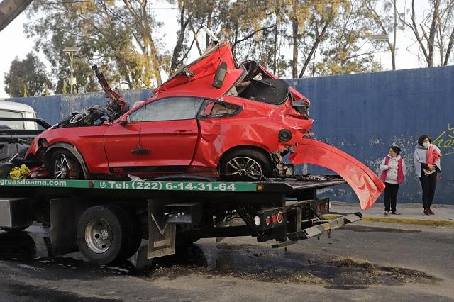 Dan de baja a funcionario de Coronango, tras accidente en Puebla