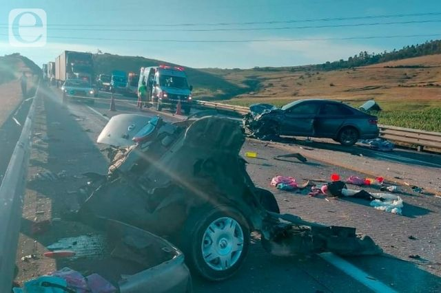 Mueren cinco en colisión entre Puebla e Hidalgo