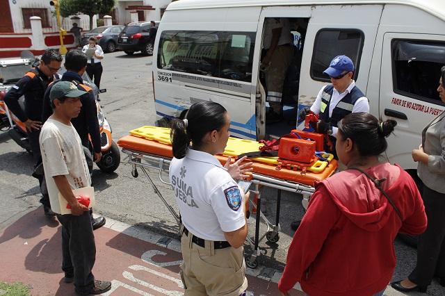 Golpean a ladrón que asaltó a mujer en Bosques de Manzanilla