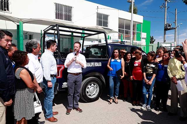 Acciones de seguridad de Banck y vecinos de la Guadalupe Hidalgo