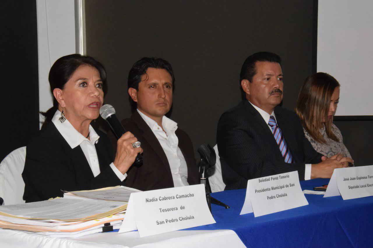 Aclara San Pedro Cholula  observaciones a cuenta pública 2015