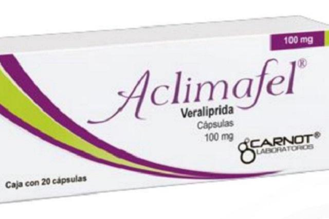 Alerta sanitaria por fármaco utilizado para síntomas de menopausia