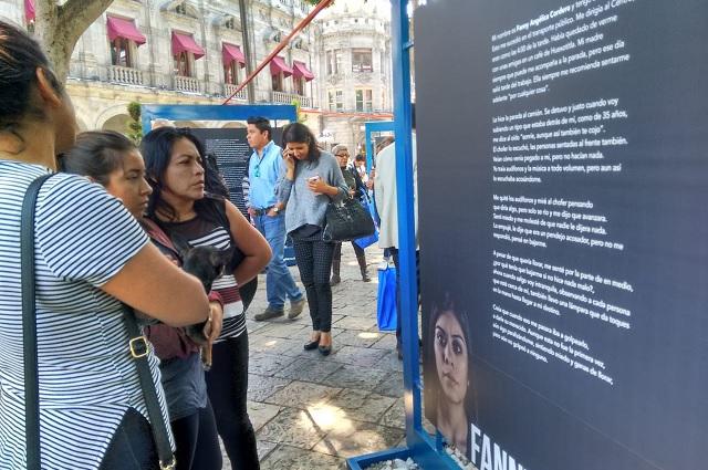 A Mónica, Fanny o Sofía las acosan hasta en el zócalo de Puebla