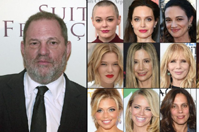 Escándalo sexual: Hollywood y sus oscuros secretos revelados en 2017