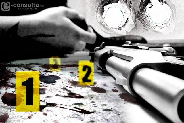 Con armas largas acribillan a dos y hieren a tres en Huatlatlauca