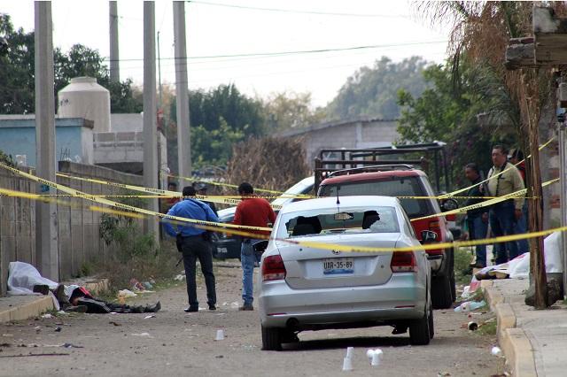 Lunes negro deja a 13 hombres ejecutados en Puebla