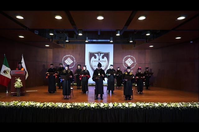 De manera virtual, Anáhuac Puebla celebra Graduación 2020