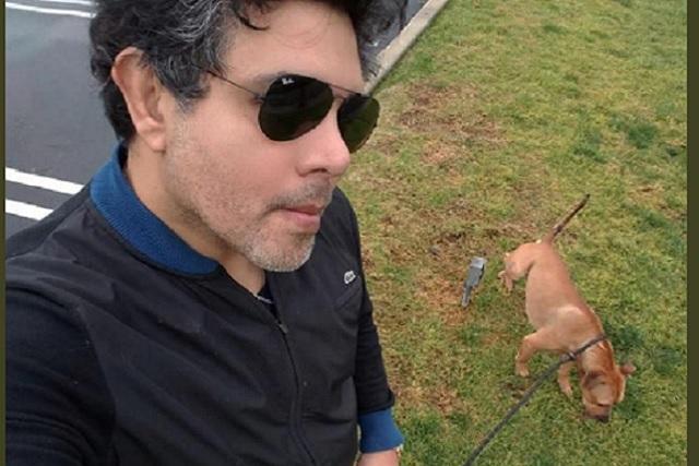 Actor ofrece 5 mil dólares a quien de información sobre perro calcinado en Loma Bella