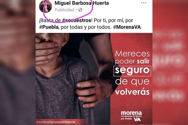 PAN presenta queja contra Miguel Barbosa por actos anticipados