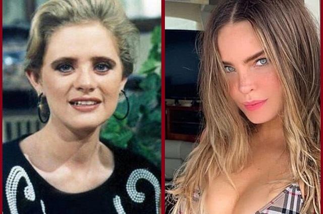 Las chicas bellas de hoy comparadas con hermosas actrices de otra generación