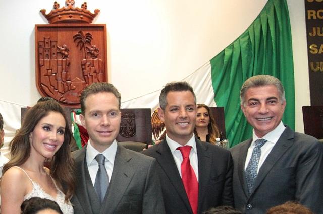 Acude Gali al informe de labores de Manuel Velasco, en Chiapas