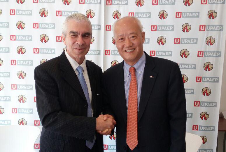 Intercambio académico acuerdan UPAEP y universidad coreana