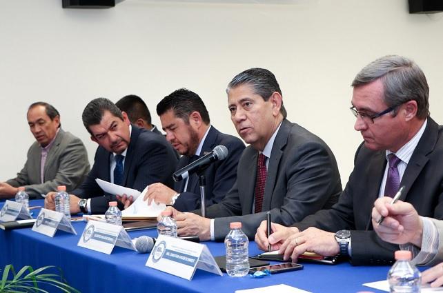 Acuerdan colaboración FGE y CCE en acciones de seguridad