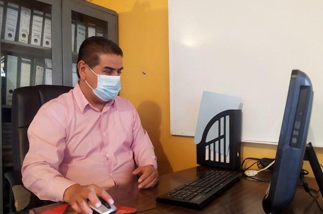 Hospitalizan por Covid-19 a diputado federal de Puebla