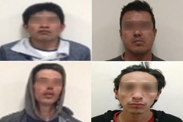 Vinculan a proceso a 4 hombres acusados de robo agravado