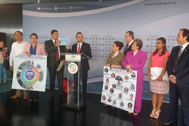 Acusa PRI plan del PAN para dañar voto de opositores en Puebla