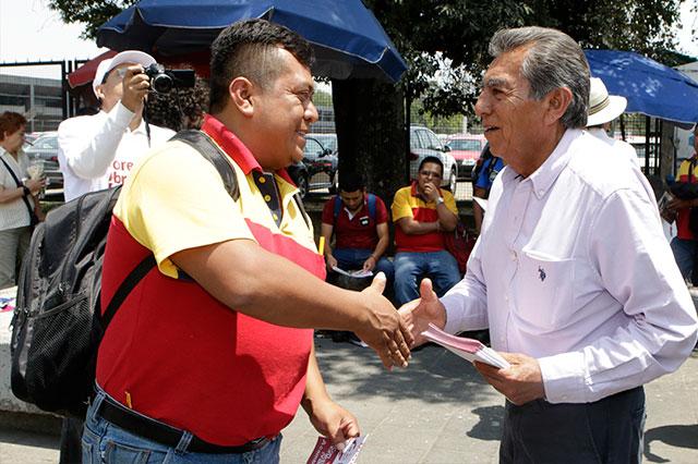 RUTA perjudicó a Central de abasto, se quejan ante Quiroz