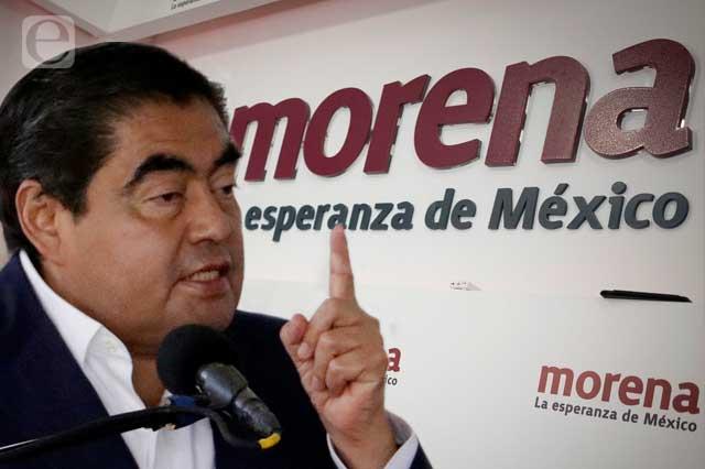 Morena actúa contra sus propios candidatos, acusa Barbosa