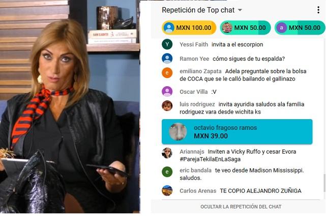 Adela Micha pide dinero en YouTube para continuar La Saga