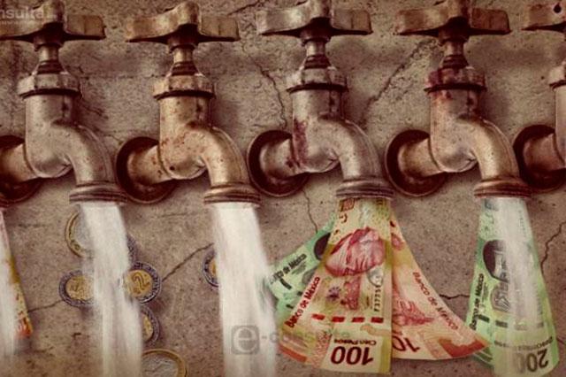 Condonar adeudos viola la Ley del Agua del estado, acusa el PRI