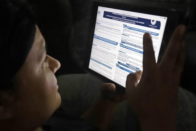 Reportan fallas en plataforma virtual para clases de la BUAP