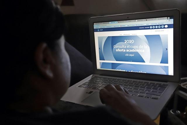 Arrancan en línea prepas BUAP y las licenciaturas para enero