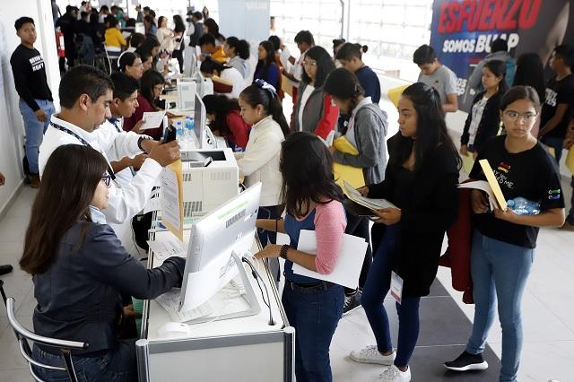 Inscripción en BUAP para 31 mil alumnos de prepa y licenciatura