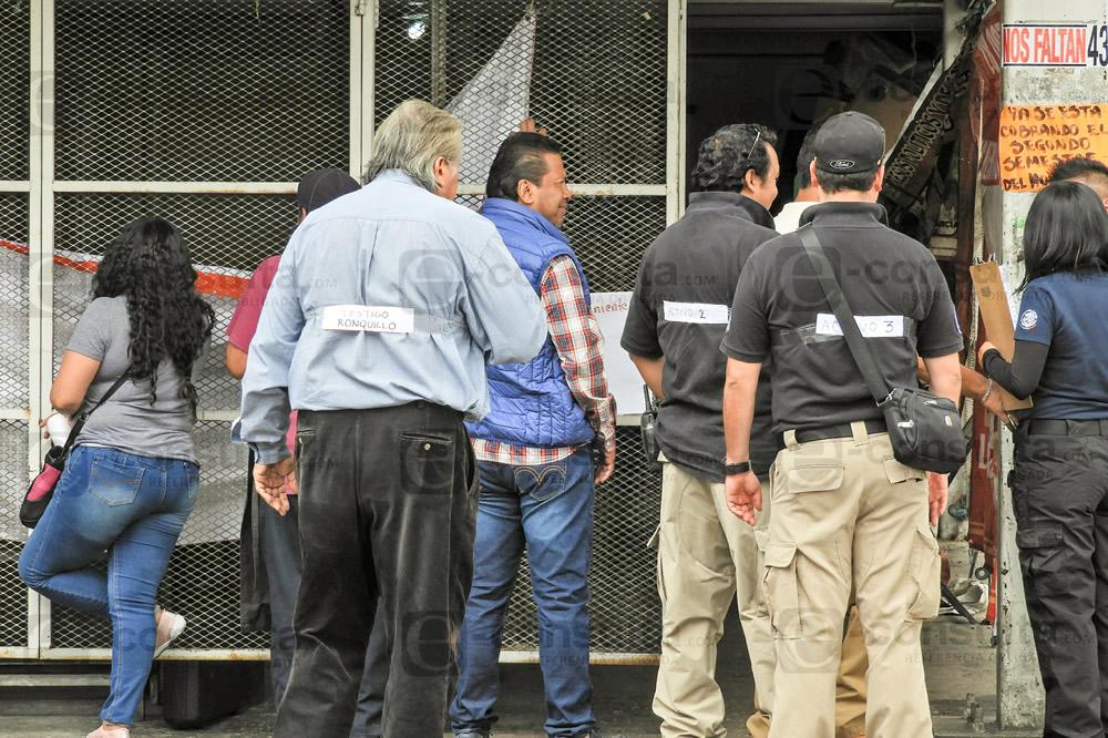 Fiscalía hace la reconstrucción  del asesinato de Meztli Sarabia