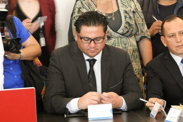 Presunta relación con Zetas deberá probarse ante FGE: Jesús Morales