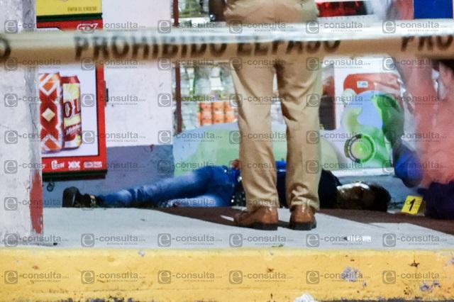 De 14 disparos matan a dos hombres en Lomas de San Miguel