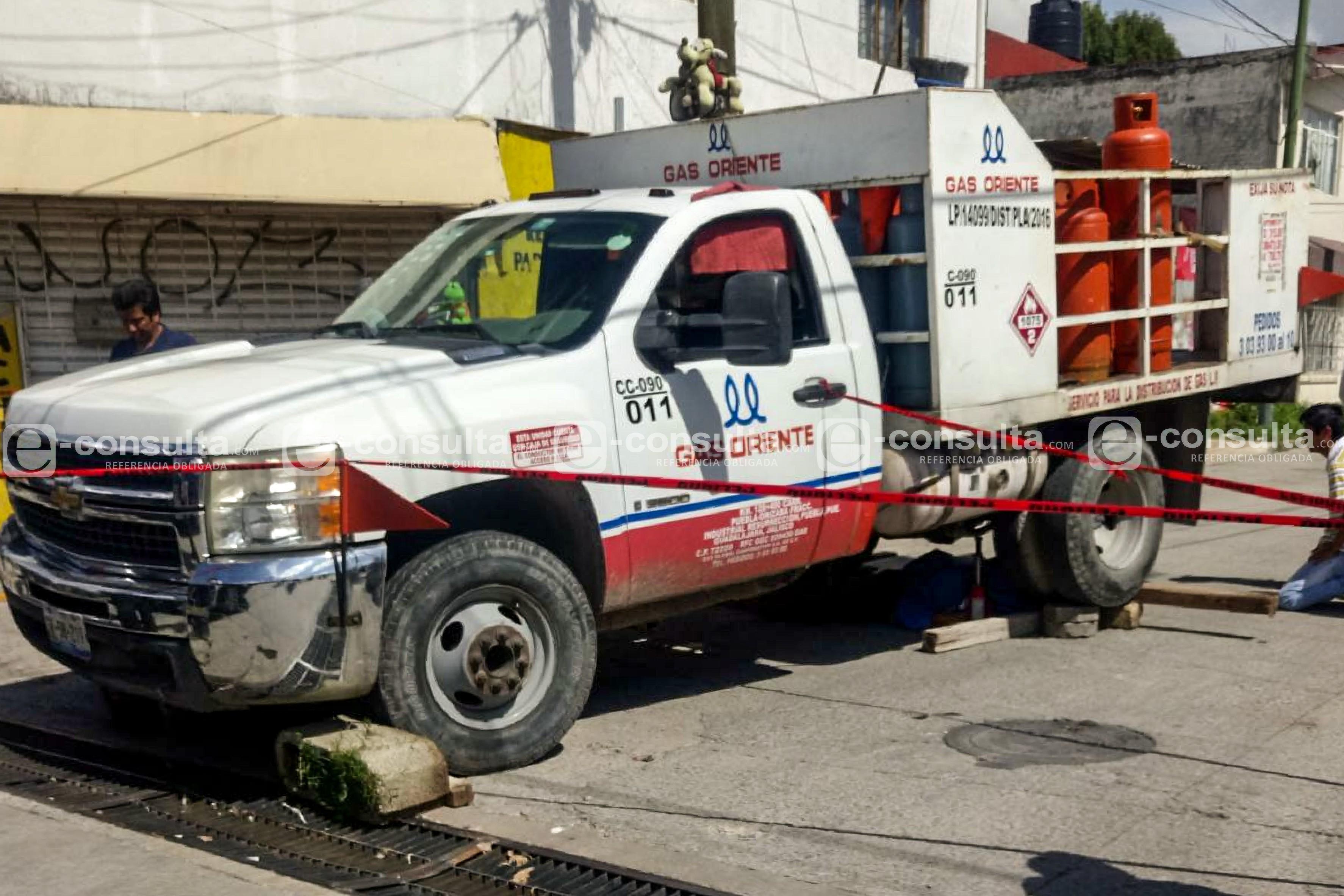 Anciana muere bajo las llantas de camión de Gas de Oriente