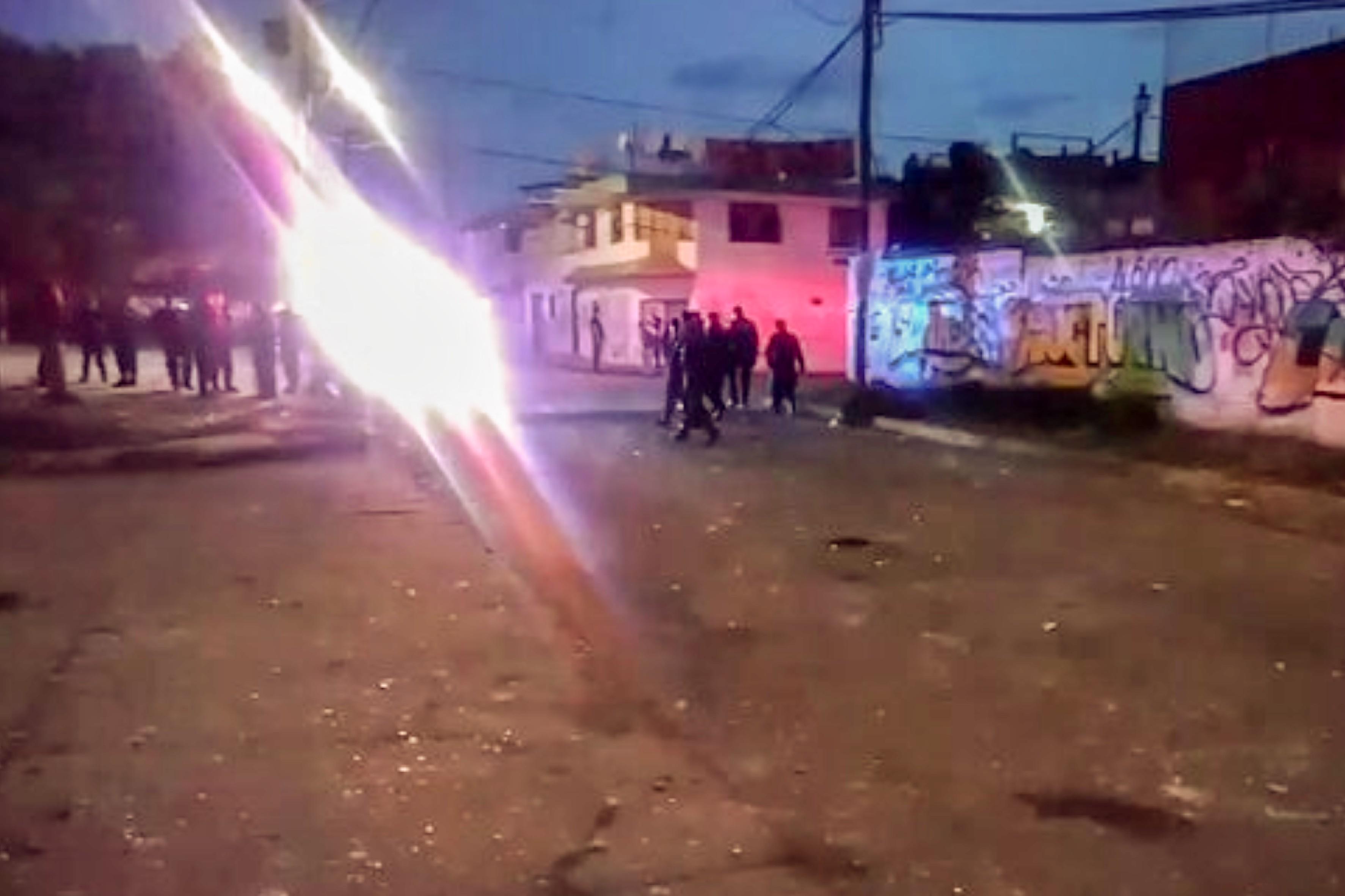 Pandillas arman balacera en la Popular; no hay detenidos